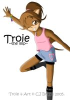 Troie -the imp- by artisticTaurean