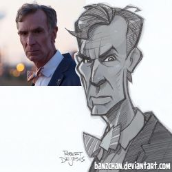 Bill Nye by Banzchan