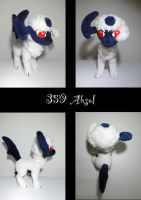 Absol plush by nfasel