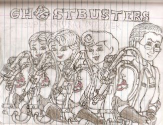 AXELS GHOSTBUSTERS by GBAxel
