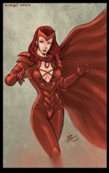Scarlet Witch by johnbecaro by singory