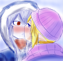 First Kiss in Winter by VaatiMage