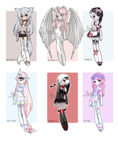 +Monster Girl Adopts [ CLOSED] + by Hunibi