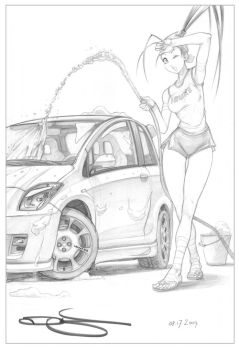 Ibuki Car Wash by Omar-Dogan