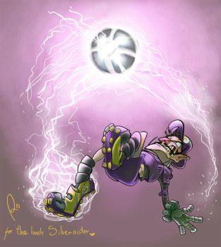 Waluigi for Silversis by artemisio