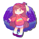 Pixel Art - Mabel Pines by TinaUtsukushiine