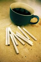Coffee and Cigarettes by secondchanceromance