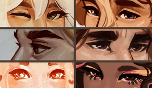 Eyes meme oof by R0BUTT