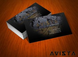 Free Avista Business Card by mct2art