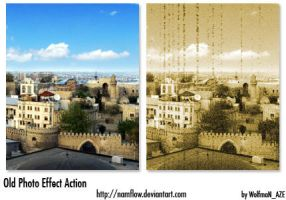 Old Photo Effect Action by NamfloW