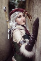 Falka - The Witcher book series - Juriet Cosplay by Juriet