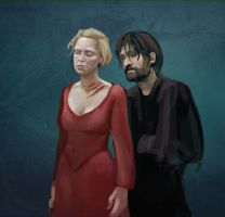 Jaime and Brienne by madtrefa