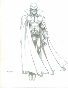 Martian Manhunter sketch by -vassago-