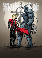 Elric Brothers by DavidJamesArmsby