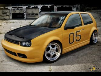 Volkswagen Golf IV by pacee