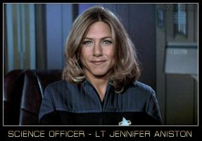 Science Officer Jennifer Aniston by gazomg