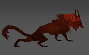 red beast by Grimmla