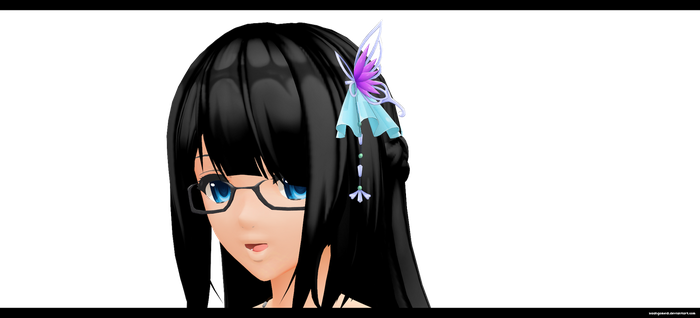 Butterfly Pin by kaahgomedl