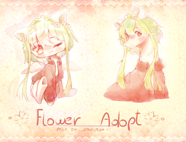 Flower adopt .:CLOSED:. ( 70% off!) by PrettyShineGP