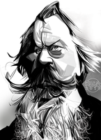 Johannes Brahms by RussCook