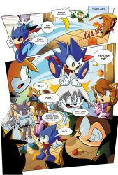 [FANMADE] Sonic Skyline Page 02 by Tale-Dude