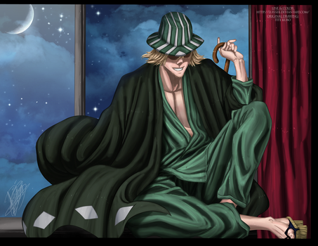 Urahara Kisuke has Return by Luisseb