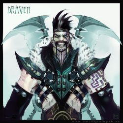 The League of Draven! by eoinart