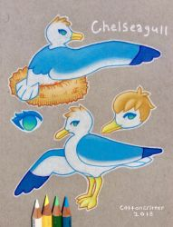 Chelseagull Ref 2018 by cottoncritter