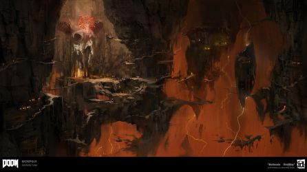 DOOM - Hell by emersontung