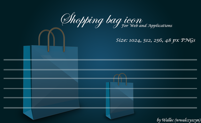 Shopping Bag Icon by wwalczyszyn