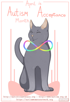 Autism Acceptance Month by Takoto