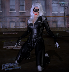 Black Cat: On the Chase for Spidey by ShadowNinjaMaster