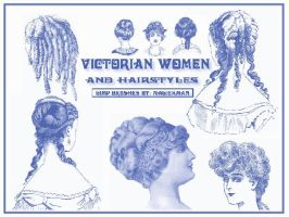Victorian Women and hairstyles by blueeyedmagickman