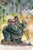 Hip Vanity watercolor by astrobrain