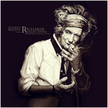 Keith Richards by xnhan00