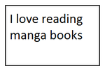 I Love Reading Manga Books Stamp by SmoothCriminalGirl16