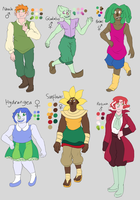Cornucopia Characters by Calorful