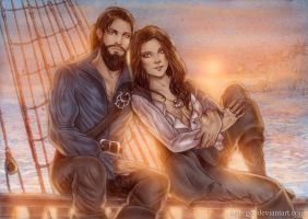Sinclaire and Gwinneth by Agregor