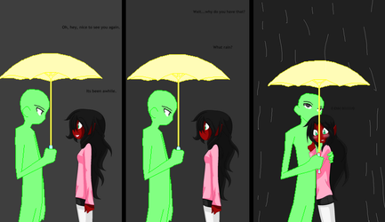 Grim Tales-Not Wanting You To Get Wet:Free Collab: by Darkemerald4578