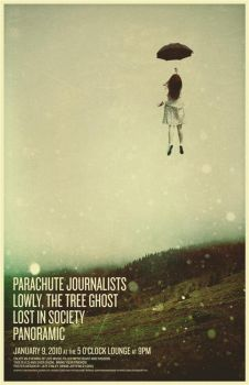 Parachute Journalists poster by gomedia