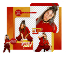 PACK PNG 568 // BILLIE EILISH by ELISION-PNGS