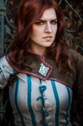 Triss portrait by MsSkunk