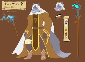 Bola Whica (Reference Sheet) by FanDragonBrigitha