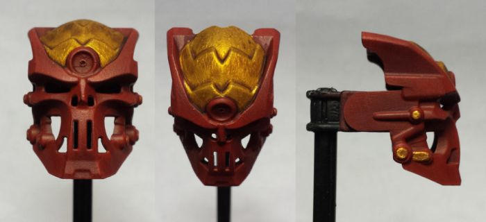 Brassy Red Kauoro by ModaltMasks