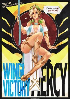 Winged Victory Mercy Pinup by MonoriRogue