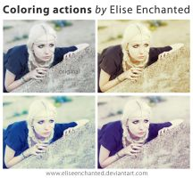 Coloring actions by EliseEnchanted