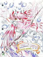Ultimate Madoka - new binder pic by Fario-P