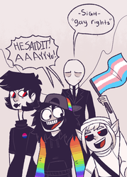 Gay Rights by Comickit