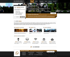 Mountain Guest House web design by MajeStik91