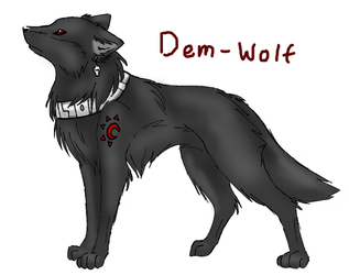 Demarious- Wolf Form by Fire-Girl872